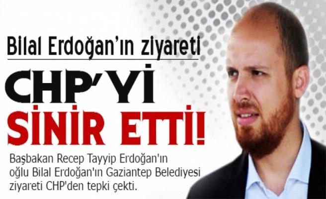 Bilal Erdoğan'ın ziyareti CHP'yi kızdırdı