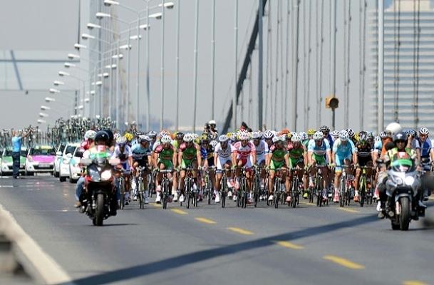 Bisiklet turunda zafer Sayar'ın