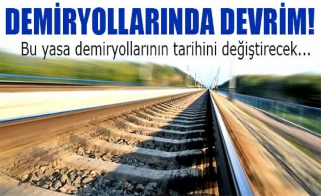 Bu yasa demiryollarının tarihini değiştirecek
