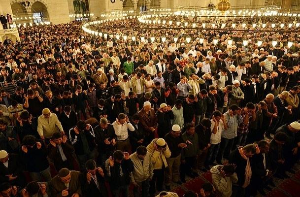 Bursa'da Kurban Bayramı namazı kılındı