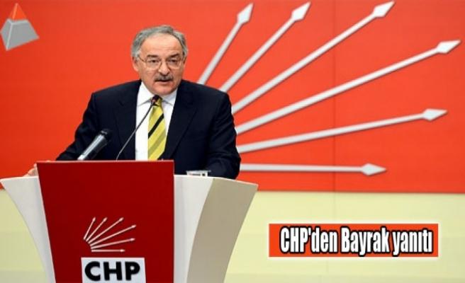 CHP'den Bayrak yanıtı