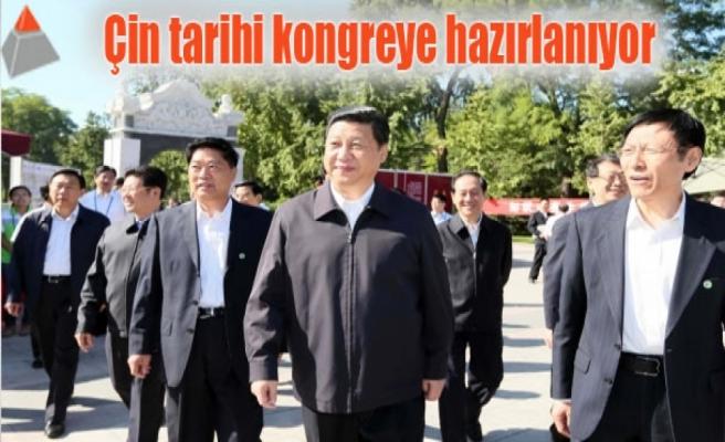 Çin tarihi kongreye hazırlanıyor