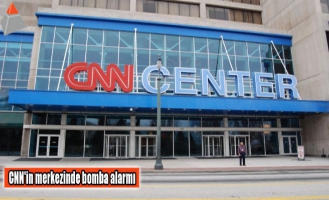 CNN'in merkezinde bomba alarmı