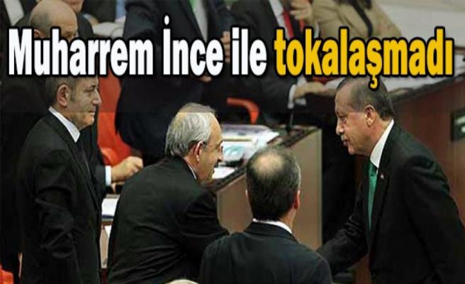 Erdoğan Meclis'e teşekkür etti, Muharrem İnce ile tokalaşmadı