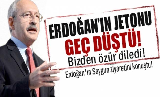Erdoğan'ın jetonu geç düştü ama...