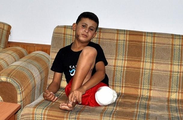 Esed'in ordusu 9 yaşındaki Malik'i vurdu