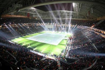 Fenerbahçe, Borussia Park Stadı'na geldi