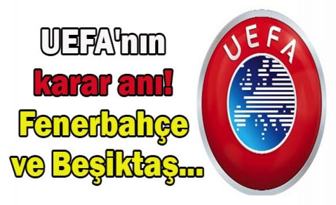 Fenerbahçe ve Beşiktaş'ın gergin bekleyişi