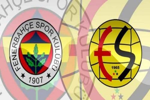 Fenerbahçe ve Eskişehirspor'un ilk 11'leri