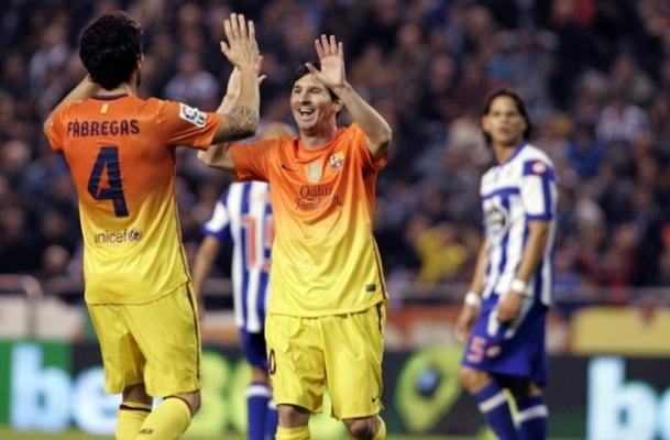 Gol düellosundan ''Barça'' çıktı