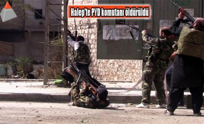 Halep'te PYD komutanı öldürüldü