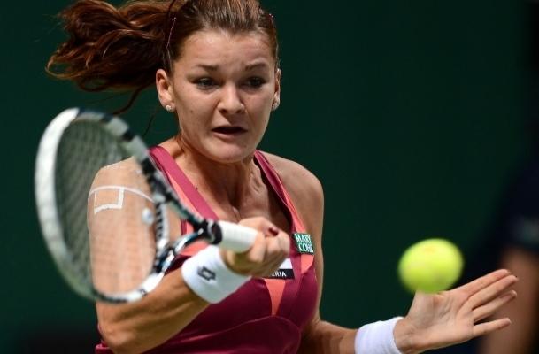 İlk maçın galibi Agniezska Radwanska