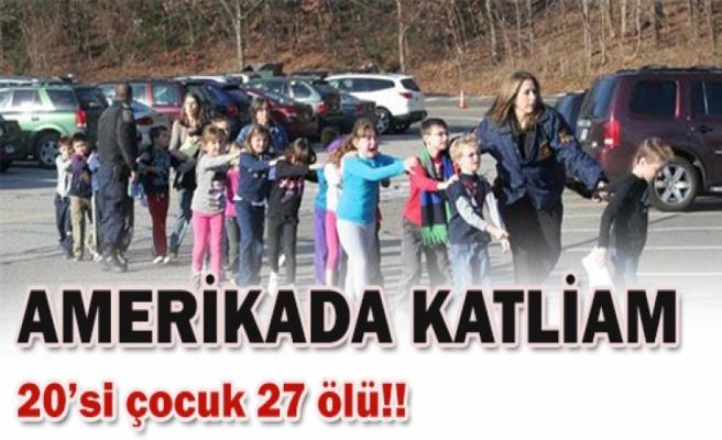 İlkokulda katliam 26 ölü