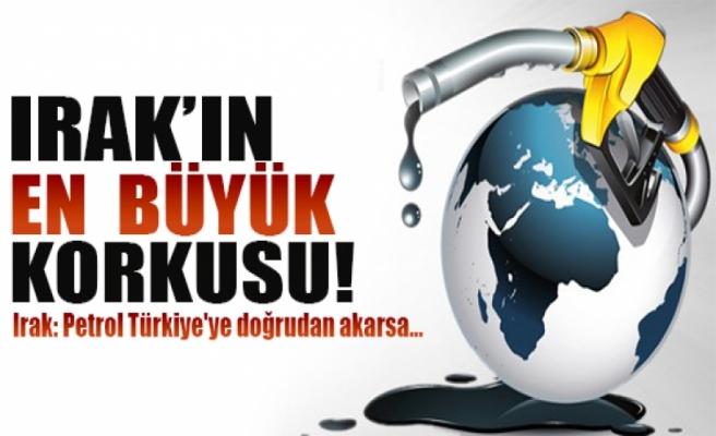 Irak: Petrol Türkiye'ye doğrudan akarsa...