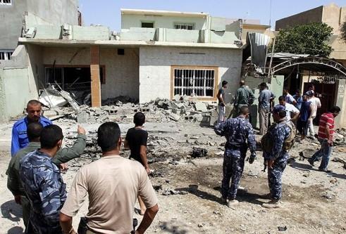 Irak'ta patlama:21 ölü,68 yaralı!