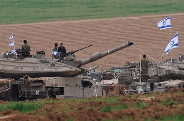 İsrail Gazze Şeridi'ne girdi