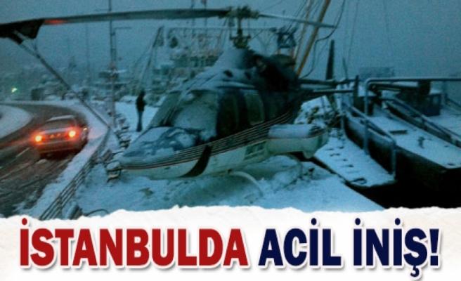İstanbul'da nefes kesen iniş!