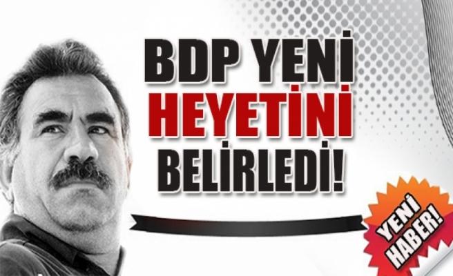 İşte BDP'nin yeni İmralı heyeti