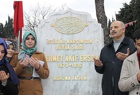 İstiklal Marşı'nın 93. yıl dönümü anıldı
