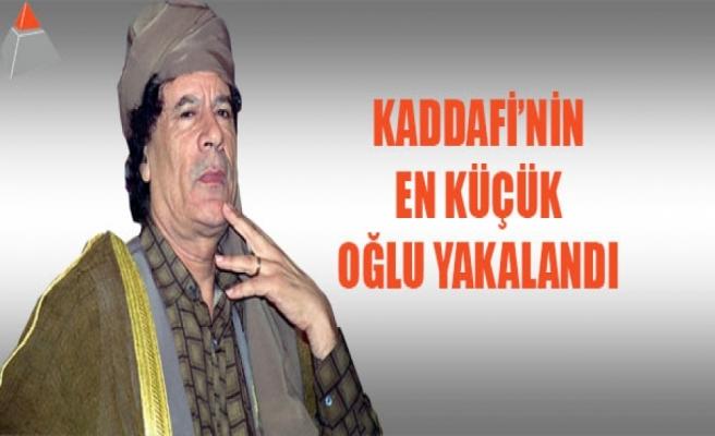 Kaddafi'nin en küçük oğlu yakalandı