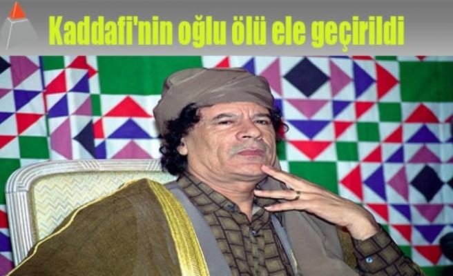 Kaddafi'nin oğlu ölü ele geçirildi
