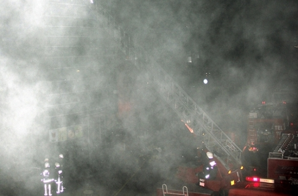 Kartal Adliyesi'nde yangın