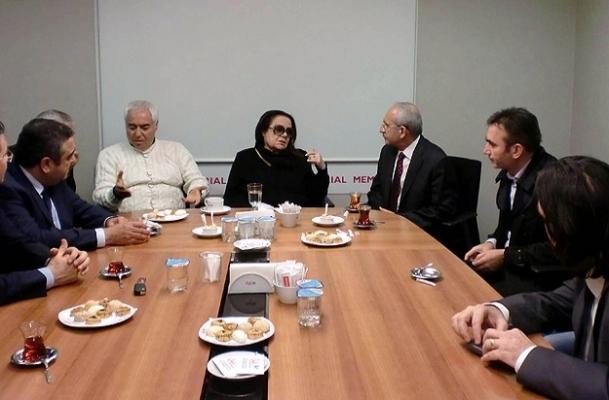 Kılıçdaroğlu'ndan Müslüm Gürses'e ziyaret