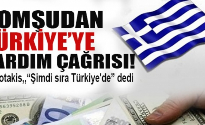 Komşu'dan Türkiye'ye yardım çağrısı