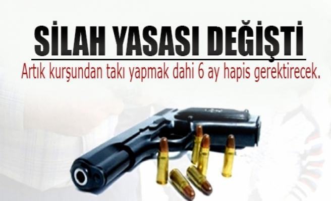 Magandalığa son! İşte yeni silah yasası...
