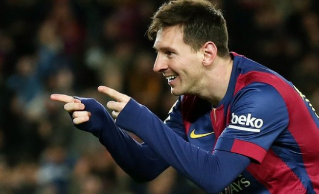 Messi'den 30. hat-trick
