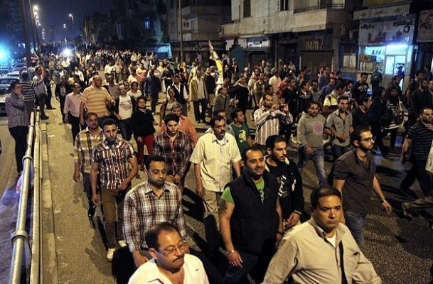 Mısır'daki çatışmalar protesto edildi