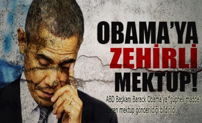 Obama'ya zehirli mektup