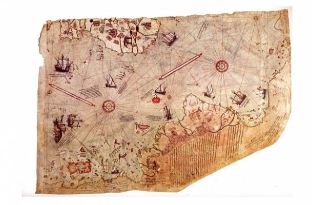 Piri Reis Haritası 500 yaşında