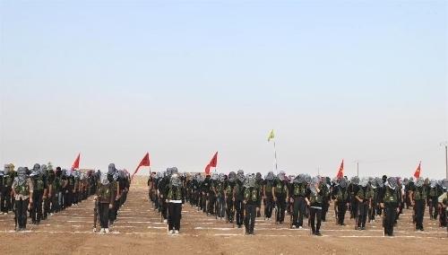 PYD, Türkiye sınırında sözde 'Kürdistan Halk Tugayları Ordusu' kurdu