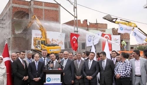 Samsun'da kentsel dönüşüm çalışmaları başladı
