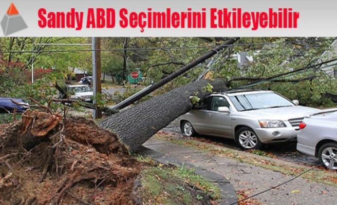 Sandy ABD seçimlerini etkileyebilir