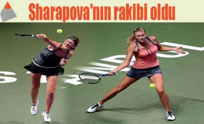 Sharapova'nın rakibi oldu