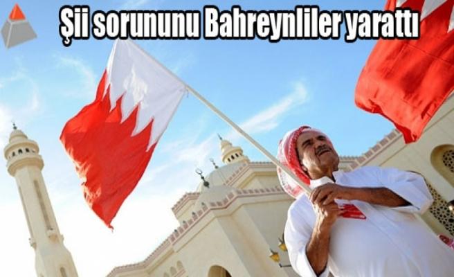 Şii sorununu Bahreynliler yarattı