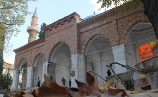 Tarihi Hamza Bey Cami'sinin restorasyonu tamamlandı