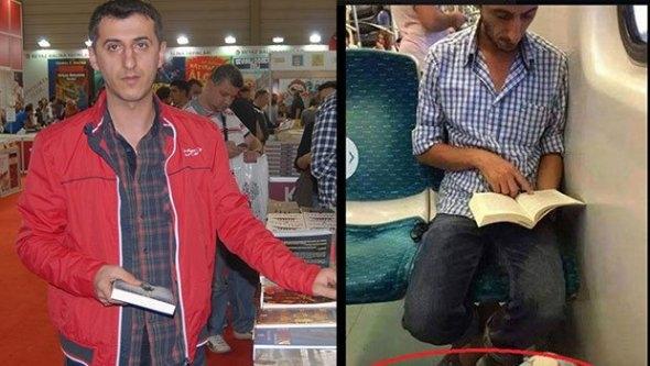 Terliğim değil, okumam örnek olsun...