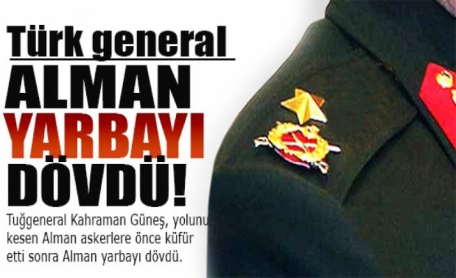'Türk general Alman yarbayı dövdü' iddiası