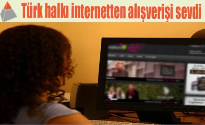 Türk halkı internetten alışverişi sevdi