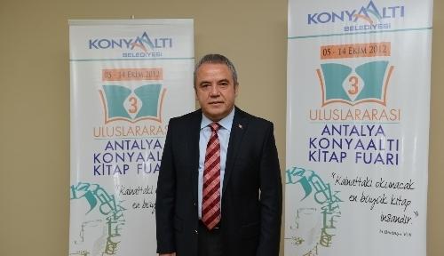 Uluslararası Antalya Konyaaltı Kitap Fuarı açılıyor
