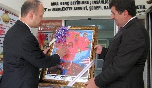 Vali Öz, Şehzade Eğitim Kurumları'nı ziyaret etti