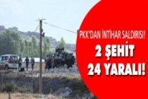 Jandarma Karakoluna iki ton patlayıcı....