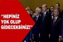 Cumhurbaşkanı Erdoğan'dan sert mesaj!