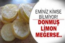 Donmuş limonun inanılmaz mucizesi!