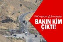 PKK'ya yardım ederken yakalandı!