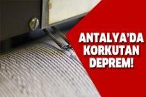 Antalyalılar korktu!
