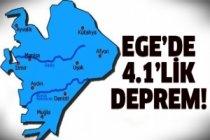 Marmara'dan sonra şimdi de Ege sallandı!